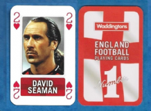 England David Seaman Arsenal 2H